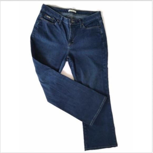 6fd2a432 Lee Jeans | Womens 14p Natural Bootcut Dark Wash | Poshmark
